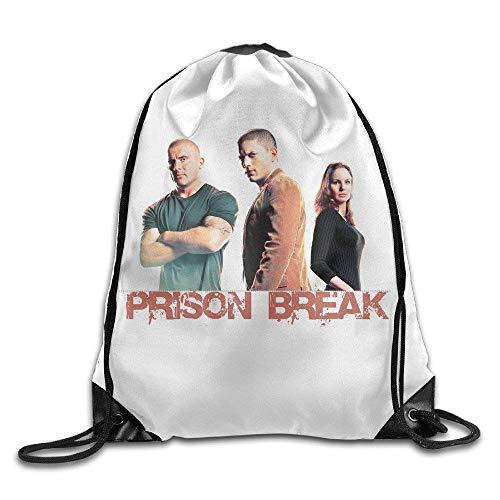 SOOPTY Prison Break Michael Scofield and Sara Poster Drawstring Gymsack Bag