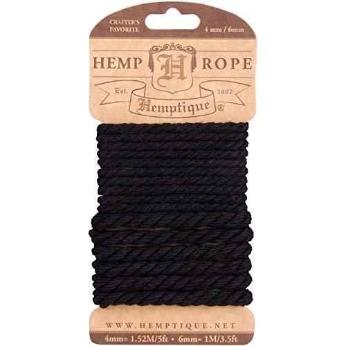Hemptique cáñamo Cuerda Set,, 4mm/6mm