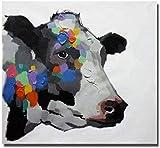 WLYUE 1000 pcs Puzzle Adultos Rompecabezas Madera Entrada de Boda Vaca Abstracta educativos para niños Puzzle Game para