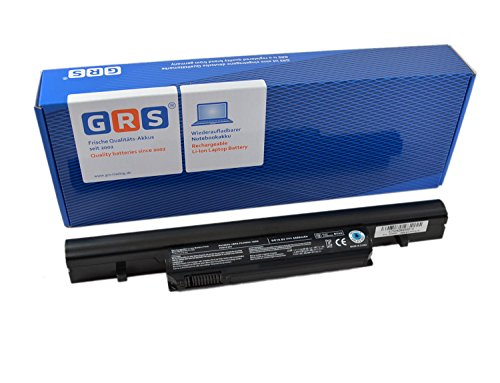 GRS Batería para Toshiba Satellite R850, Pro R850, Tecra R850, Tecra R950, Dynabook R751, R752, sustituye a: PA3904U-1BRS PA3905U-1BRS PABAS246 PABAS245 4400mAh/49Wh 11,1V