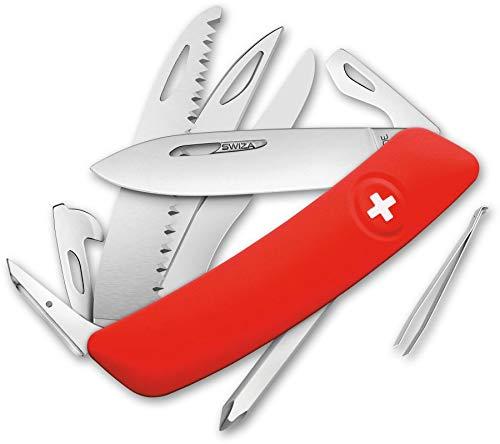 SWIZA 691401 Schweizer D010 Messer, Silber, 17 cm