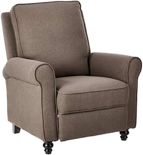 Best JC Home Arm Push recliner, one size, Brown