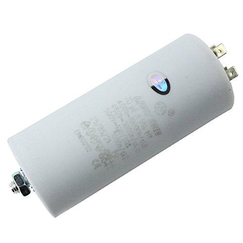 Spares2go Universal condensatorstarter Microfarad platte stekker 5UF tot 80UF