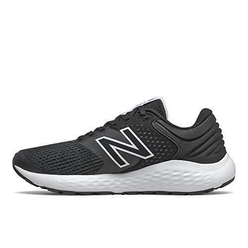 New Balance 520v7, Zapatillas para Correr de Carretera Mujer, Black, 40.5 EU Wide