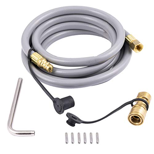 Char-Broil 8216842R04 Natural Gas Conversion Kit-2020 and Newer, Silver Grill Valves