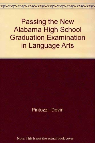 Passing the New Alabama High School Graduation Examination in Language Arts