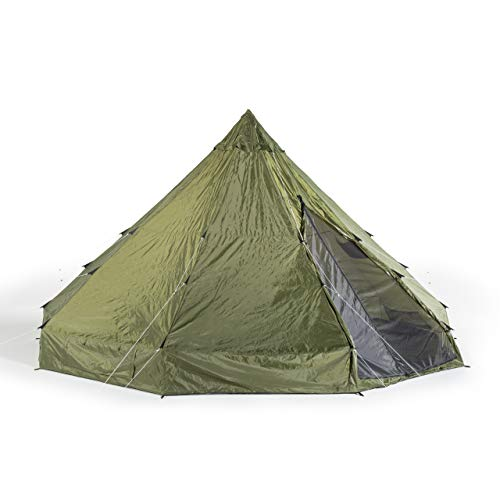 OmniCore Designs 12 Person 18' Teepee Camping Tent with Vented Roof
