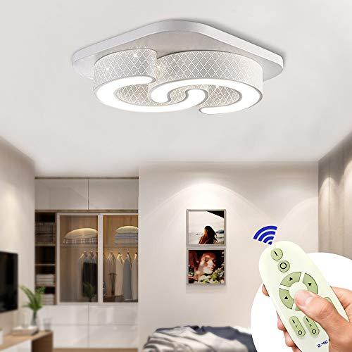 MYHOO 64W Dimmerabile plafoniera LED Moderna lampada da soffitto disimpegno soggiorno camera da letto della lampada[Classe di efficienza energetica A++]