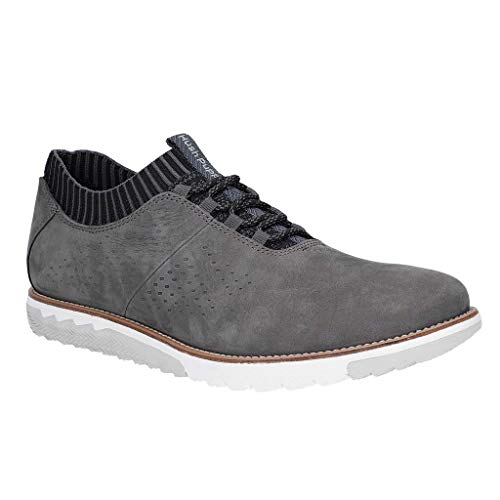 Hush Puppies Herren Expert Strick Oxford Schnür-Trainer (42 EU) (Dunkelgrau)