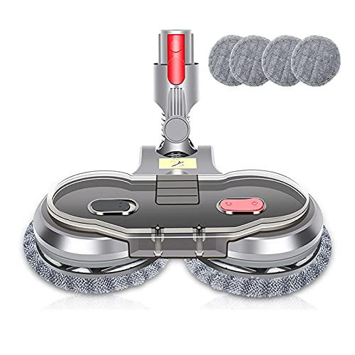 GOOCO Mop Attachment Mop/Cleaner Head, Hard Floor Cleaner spin mop replacement mop Floor Brush Tool with Cleaning Pads Hardwood Laminate Tiles Floors