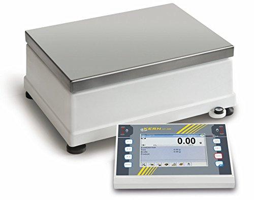 Plataforma Báscula [Núcleo ilt 50K de 4C] modernos Premium pantalla táctil de báscula Vertical con la función completa del Envío para exigentes procesos, rango de pesaje [Max]: 50kg, Lectura [D]: 0,1g