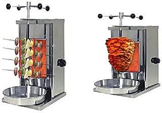 TURCOBAZAAR Doner Kebab SHAWARMA Machine LPG Gas - ONE Stove Mini Doner Kebab SHAWARMA Machine
