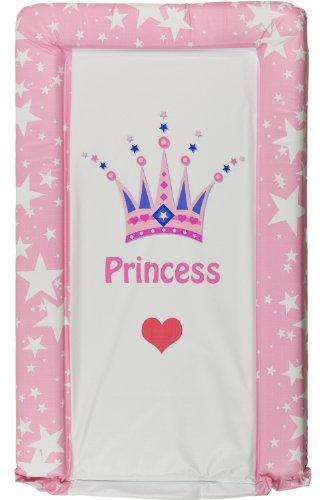 Matelas À Langer Rose Motif Princess Bébé