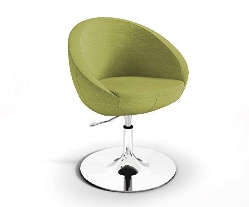 Marbet Style Drehstuhl feiner Webstrukturbezug Persempra Lobo Diskfuß PR16