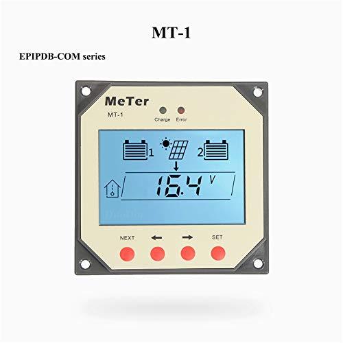 EPEVER® Medidor Remoto para el Controlador de Carga Solar de Doble Batería con Cable de 10 Metros para la Serie EPIPDB-COM (MT-1)