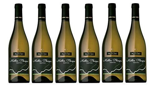 Confezione 6 bottiglie Muller Thurgau | Vino Bianco Trentino DOC | Cantina Aldeno - Athesim Flumen
