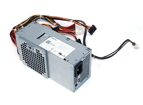 Genuine OEM Switching Power Supply Unit PSU For DELL Optiplex 390 790 990 3010 Inspiron 537s 540s 545s 546s 560s 570s 580s 620s Slim Desktop Form Factor (Renewed)