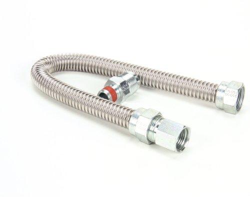 Vulcan Hart 423828-7 Flex Tube, 18 LG, 3/8 MPT by Vulcan Hart