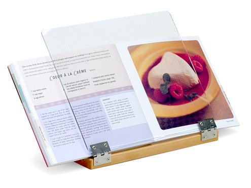 Clear Solutions 9.75x11.75-in. Cookbook Holder.