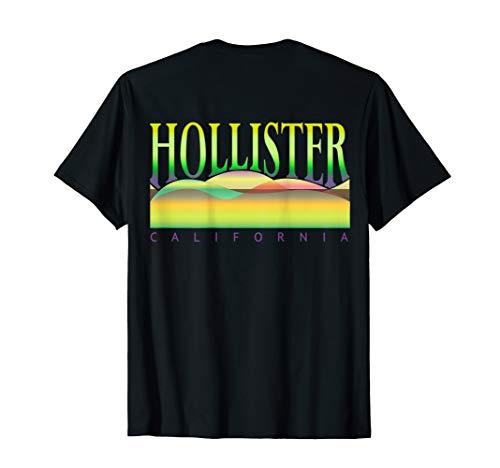 HOLLISTER CA. HILLS, HOLLISTER CA. HILLS BACK VIEW,SOUVENIR T-Shirt