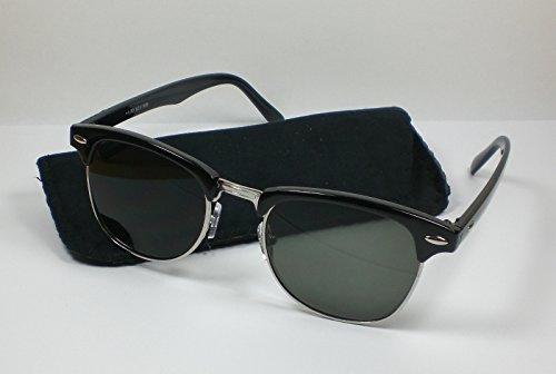 Victoria leesbril met getinte glazen jaren 60 design leeshulp voor hem en haar zwart +1,0