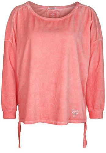 Better Rich Damen Sweatshirt Sweat Crew Velvet TIE Samt-Oberfläche