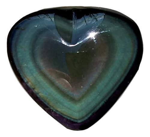WLM Coeur en Obsidienne œil céleste Petit modèle