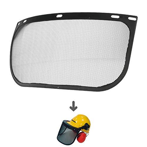 Recambio Protector Facial Para Casco Con Visera, Protector Facial De Rejilla y Protector Auditivo Maurer Modelo 99790 ⭐