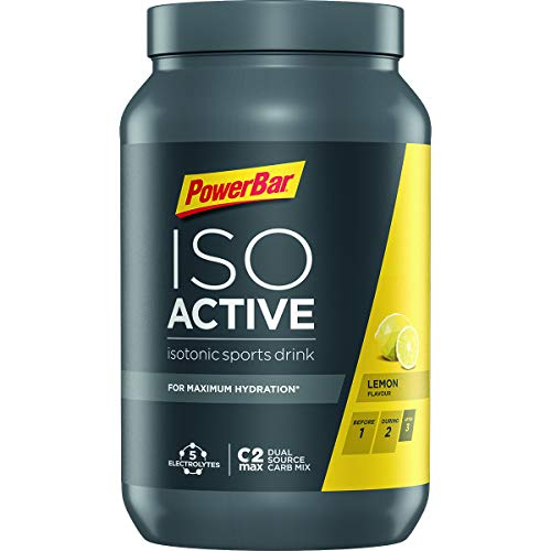 PowerBar Isoactive Sports Drink Lemon, 1.32 kg
