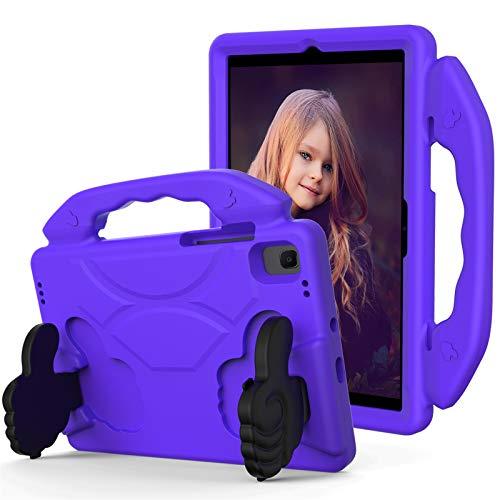 KATUMO Funda para niños para Samsung Galaxy Tab A7 10,4 Pulgadas Modelo 2020 (SM-T500 / T505 / T507), Funda Protectora Ligera de EVA a Prueba de Golpes para Tableta Galaxy Tab A7 10,4,Púrpura