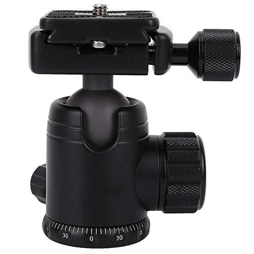 SLR-camera Statiefkogelkop, 20 kg / 44 lbs laadvermogen, 360 graden roterende panoramische balhoofd met (1,97 inch of 2,36 inch) snelkoppelingsplaat voor spiegelreflexcamera's(30mm)