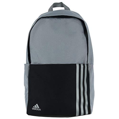 Adidas 3 Stripe Backpack, Grey