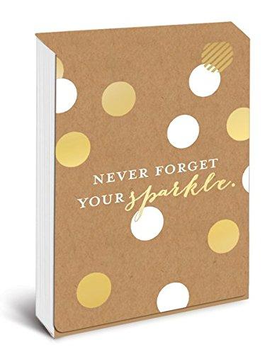 Pocket Notes: Never Forget Your Sparkle – Notizblock im praktischen Taschenformat: Vergiss niemals Dein Funkeln: Unser handlicher Notizblock mit magnetischem Verschluss (Notizblock im Taschenformat)