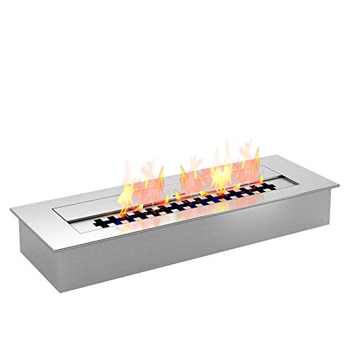 Regal Flame PRO 18 Inch Bio-Ethanol Fireplace Burner Insert 2.6 Liter