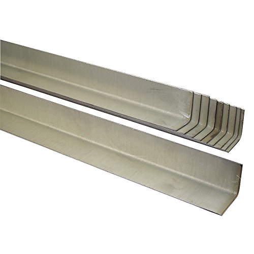 1' x 1' x 30' Shrinker and Stretcher Metal with Electrozinc Finish STL-22130, Pre-Bent to a 90° Angle, 10-Pk, Made in USA