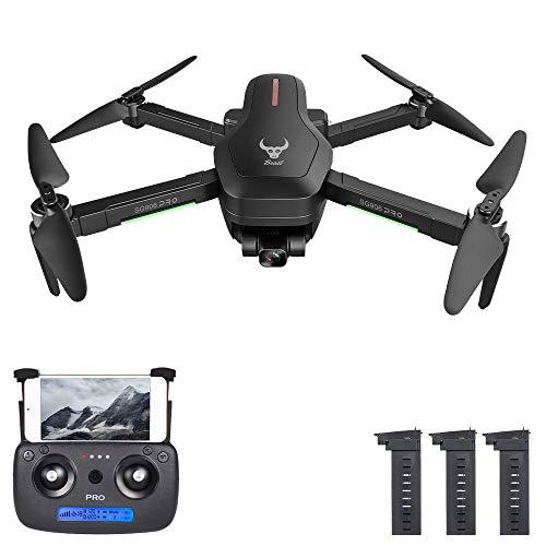 Entweg Drone RC, Zll Beast Sg906 PRO 2 GPS Drone RC con Videocamera 4K Motore Senza Spazzole Gimbal A 3 Assi 5G WiFi FPV Posizionamento del Flusso Ottico Punto Waypoint Volo 1200M Distanza di