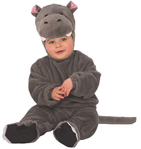 Rubies - Disfraz infantil de Hipopótamo para bebé, 1-2 años (510560-T)