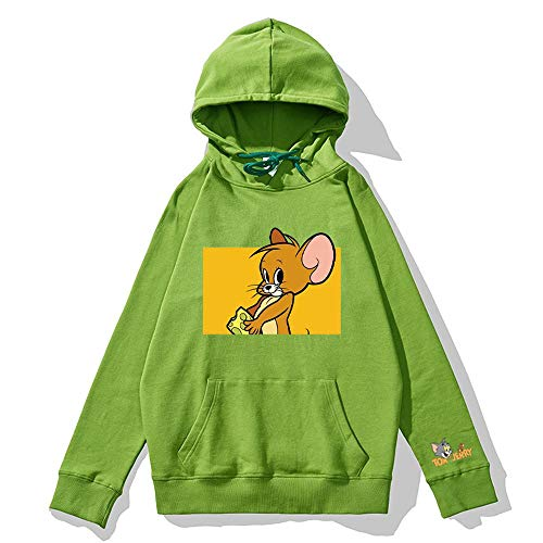 Impression Anime Unisex Sweats à Capuche Sweat-Shirts Manches Longues Pullover G-M
