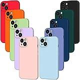 iVoler 10x Custodia Cover per iPhone 13 Mini, Sottile Morbido TPU Silicone Antiurto Protettiva...
