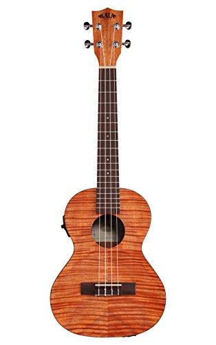 KALA Exotic Mahogany KA-TEME (Acoustic-Electric) Tenor Ukulele with EQ, Natural