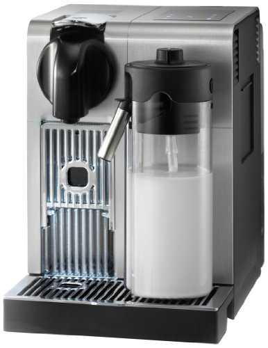 De'Longhi America EN750MB Lattissima Pro Original Espresso Machine with Milk Frother by De'Longhi, 10.8' L x 7.6' W x 13' H, Brushed Aluminum