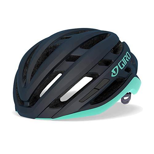 Giro Agilis Casque de vélo de course pour femme Bleu nuit 2021 Taille S (51-55 cm)