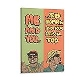 GHASDF Me And You Outkast Poster, dekoratives Gemälde,