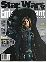 ENTERTAINMENT WEEKLY, A REBELLIOUS SPECIAL ISSUE STAR WARS ROGUE ONE DEC,02nd
