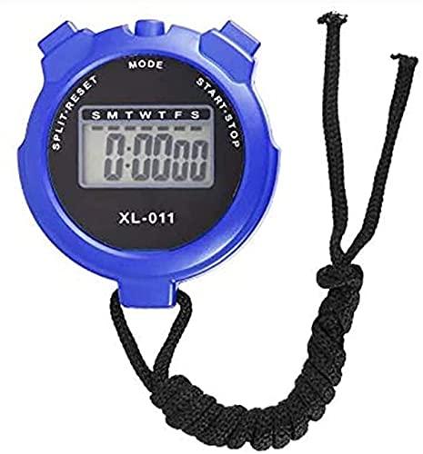GLLP Cronómetro Multifuncional Deportes de cronómetro Temporizador de cronometrador de la Competencia del Estudiante Que Ejecuta el cronómetro de Entrenamiento