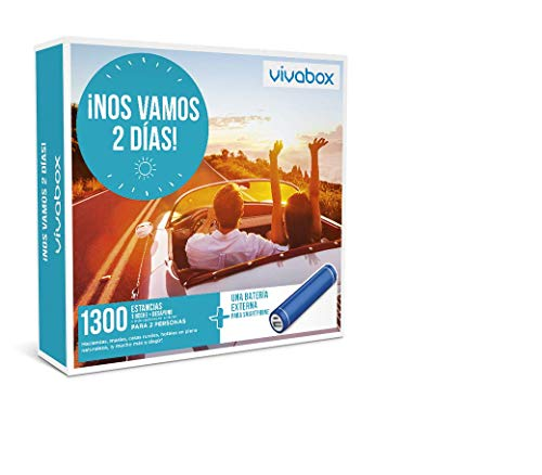 Vivabox Caja Regalo ¡NOS VAMOS DOS DÍAS! 1.300 estancias. Incluye un regalo