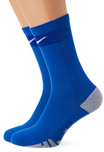 NIKE U NK Matchfit Crew-Team Socks, Unisex adulto, Royal Blue/Bright Blue/White, M (SX6835)