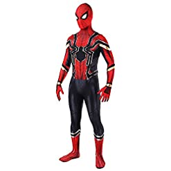 Bailu Halloween Superhero Cosplay Costume Unisex Bodysuit Dress Up Pretend Play Suit…