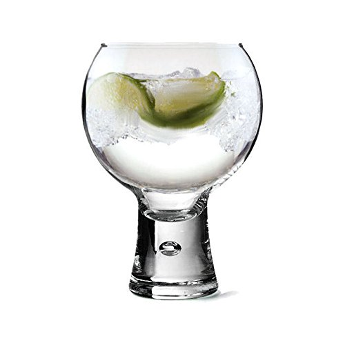 Personalised Thick Stem Gin Glass - 540ml Engraved Gift - Enter Your Own Custom Text