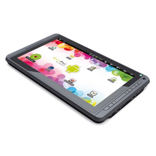 Easypix EasyPad Junior 17,8 cm (7 Zoll) Tablet-PC (Rockchip, 1,2GHz, 512MB RAM, 4GB HDD, Android 2.3) schwarz